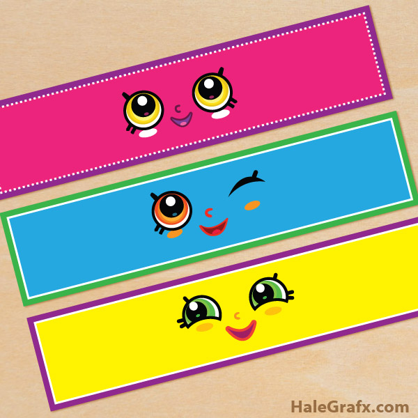 FREE Printable Shopkins Face Water Bottle Labels