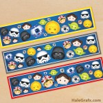 FREE Printable Star Wars Tsum Tsum Water Bottle Labels