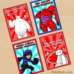 FREE Printable Big Hero 6 Valentines