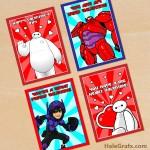 FREE Printable Big Hero 6 Valentines