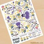 FREE Printable Minion I-Spy Sheet