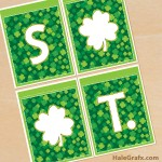 FREE Printable St. Patrick's Day Alphabet Banner Pack