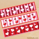 FREE Printable Valentine's Day Water Bottle Labels