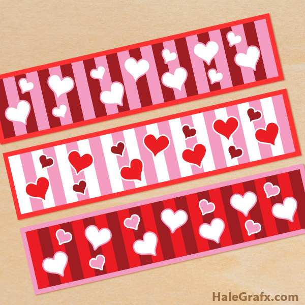 FREE Printable Valentine\'s Day Water Bottle Labels