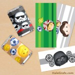 FREE Printable Star Wars Tsum Tsum Mini Candy Bar Wrappers