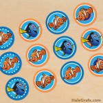 FREE Printable Finding Nemo Cupcake Toppers