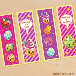 FREE Printable Shopkins Bookmarks