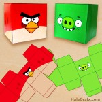 FREE Printable Angry Birds Treat Boxes