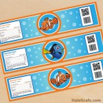 FREE Printable Finding Nemo Water Bottle Labels