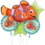 Finding Nemo and Finding Dory party accessories