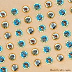 FREE Printable Zootopia Hershey's Kisses Stickers