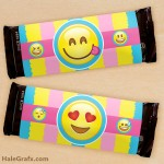 FREE Printable Emoji Candy Bar Wrappers