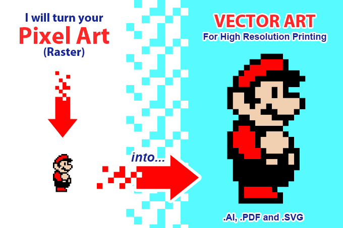 Pixel to Vector service