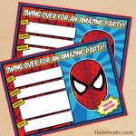 FREE Printable Spider-man Birthday Invitation