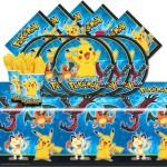 Pokémon party supplies