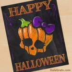 FREE Printable Halloween Monster High Chalkboard Art