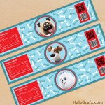 FREE Printable Secret Life of Pets Water Bottle Labels