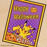 FREE Printable Halloween Pokémon Poster