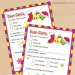 FREE Printable Shopkins Letters to Santa Claus