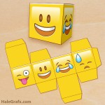 FREE Printable Emoji Treat Box