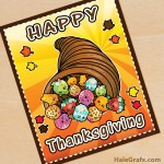 FREE Printable Thanksgiving Shopkins Poster