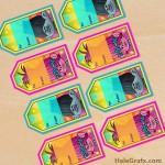 FREE Printable Trolls Gift Tags