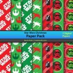 FREE Star Wars Christmas Digital Paper Pack