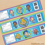 Free Printable Bubble Guppies Water Bottle Labels