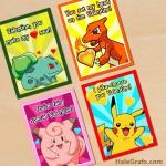 FREE Printable Pokémon Valentines