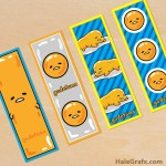 FREE Printable Gudetama Bookmarks