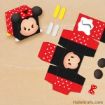 FREE Printable Tsum Tsum Minnie Treat Box