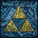 FREE Printable Zelda Breath of the Wild Word Art