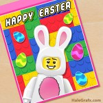 FREE Printable LEGO Easter Poster