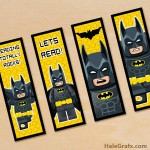 FREE Printable LEGO Batman Bookmarks