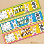 Free Printable LEGO Easter Water Bottle Labels