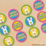 FREE Printable LEGO Easter Cupcake Toppers