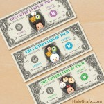 FREE Printable Tsum Tsum Play Money