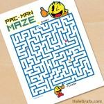FREE Printable Pac-man Maze