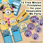 12 Free Minion Printables for your Upcoming Despicable Me Party