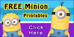 Free Minion Printables
