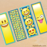 FREE Printable Emoji Bookmarks