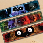 Free Printable Five Nights at Freddy's Water Bottle Labels