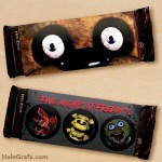 FREE Printable Five Nights at Freddy's Candy Bar Wrappers