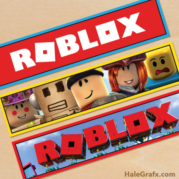 photograph about Roblox Picture Printable called Cost-free Printable Roblox H2o Bottle Labels