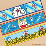 Free Printable Doraemon Water Bottle Labels