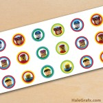 FREE Printable Roblox Hershey's Kisses Stickers