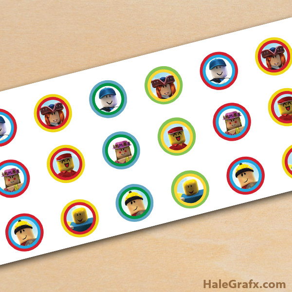 Free Printable Roblox Hershey S Kisses Stickers