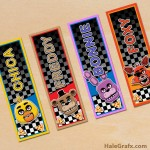 FREE Printable Five Nights at Freddy's Bookmarks