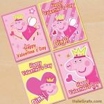FREE Printable Peppa Pig Valentines