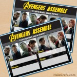 FREE Printable Marvel Avengers Party Invitation